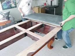 Pool table moves in Greenville North Carolina
