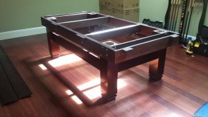 Correctly performing pool table installations, Greenville North Carolina